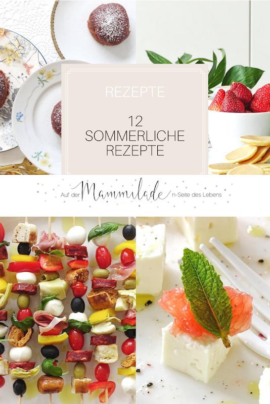 12 sommerliche Rezept-Ideen | https://mammilade.blogspot.de