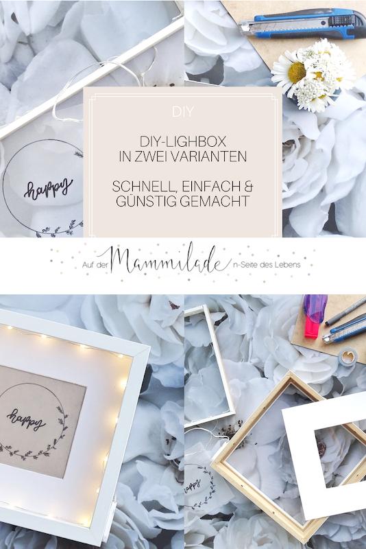 DIY-Lightbox schnell, einfach und günstig selbergemacht | Fotoaktion #12von12 | 1 Tag in 12 Bildern | https://mammilade.blogspot.de