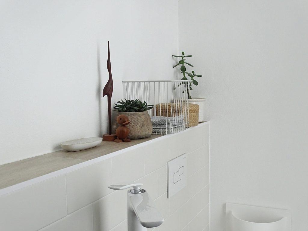 Fliesen Gäste-WC | Fotoaktion #12von12 | 1 Tag in 12 Bildern | https://mammilade.blogspot.de