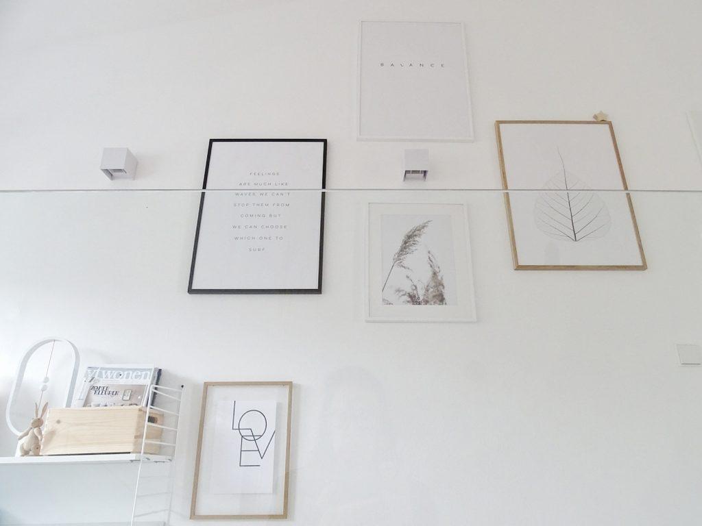 Galerie-Wand im Flur | Fotoaktion #12von12 | 1 Tag in 12 Bildern im Juli | https://mammilade.blogspot.de