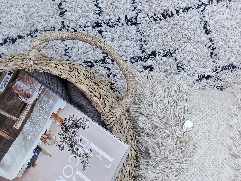 Kissen, Teppiche und Körbe aus Naturmaterialien sind echte Deko-Highlights