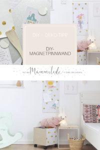 DIY-Magnetpinnwand | Mit selbstklebenden Möbelfolien werkeln, umstylen und aufhübschen | mammilade.com