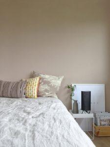 Schlafzimmer-Makeover | Warme Wandfarbe für mehr Behaglichkeit | Toffee-Farbtöne für die Wand | mammilade.com