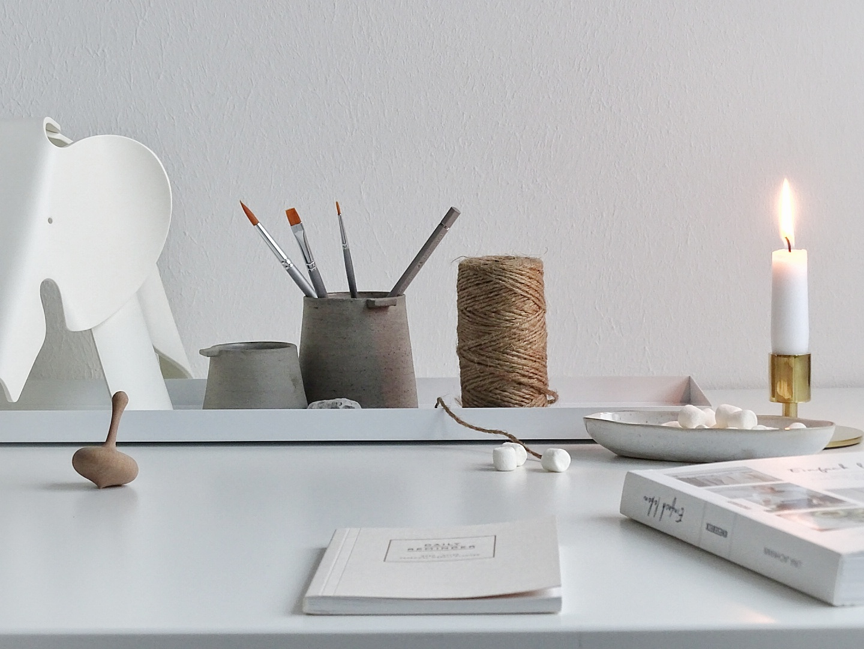 In 5 Schritten zum hübsch organisierten Arbeitszimmer | mammilade.com