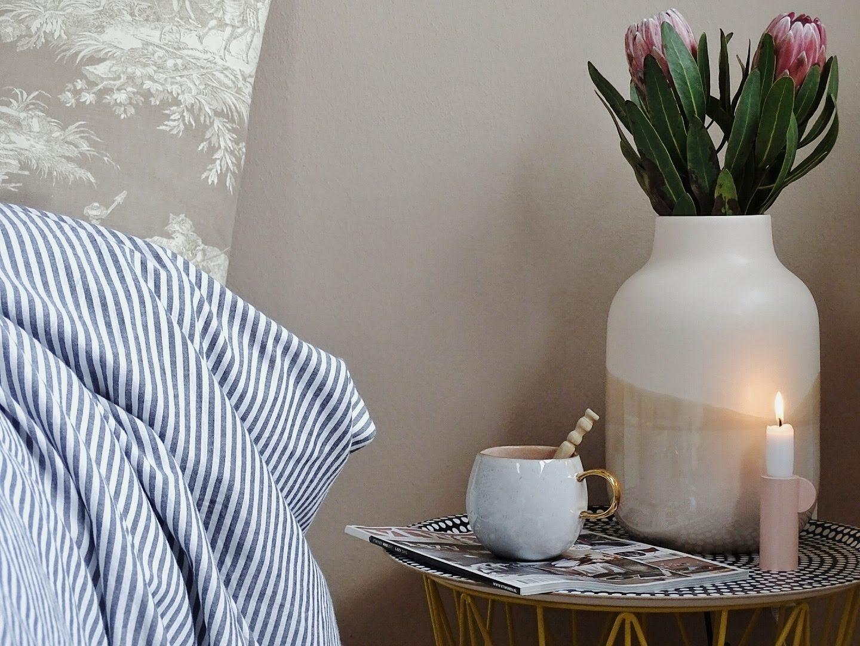 1 Tag in 12 Bildern #12von12 | Protea dekorieren und Schlafzimmerdeko | mammilade.com