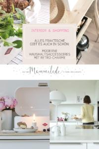 Praktisch & schön: Moderner Haushaltsaccessoires mit Retro-Charme | mammilade.com
