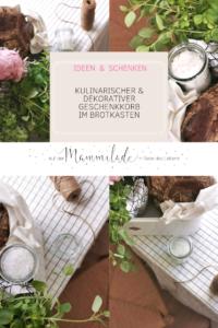 Ein Brotkasten als super dekorativer, kulinarischer Geschenkkorb | mammilade.com