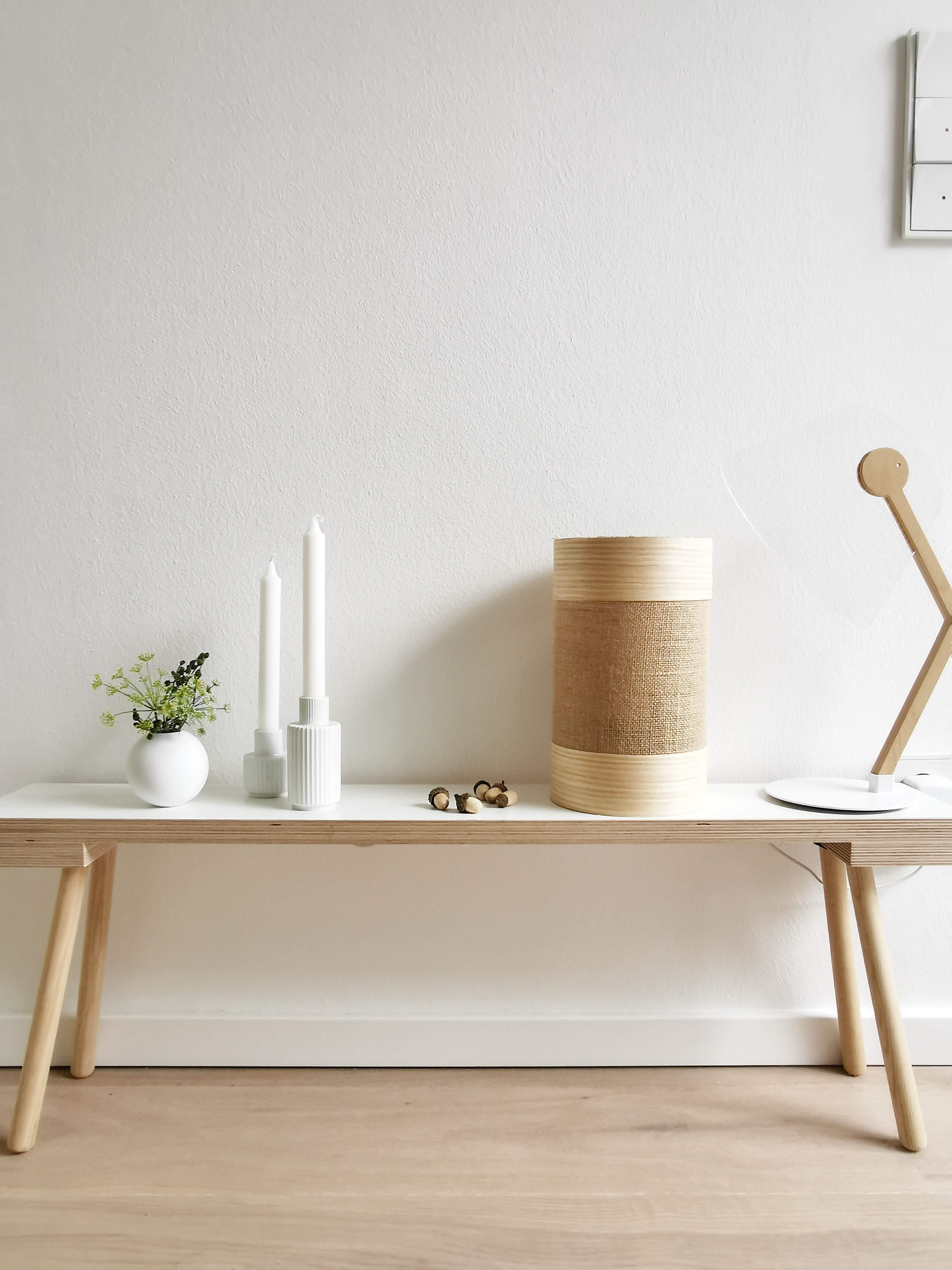DIY Laternen aus Leinen, Jute und Furnierholz smart beleuchtet | mammilade.com