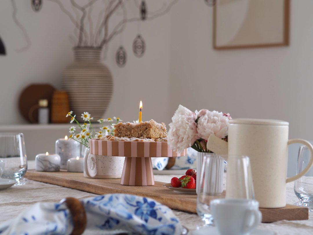 Eine Sommerliche Tischdeko Idee Hej Midsommar Mammilade Com