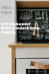 DIY-Makeover IKEA Kinderküche Duktig | mammilade.com