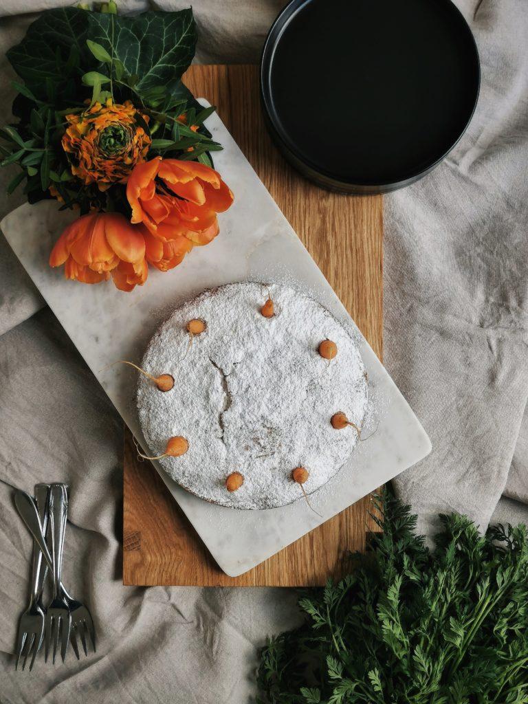 Super-saftiger Möhrenkuchen/ Karottenkuchen als Teil einer kulinarischen Challenge | mammilade.com