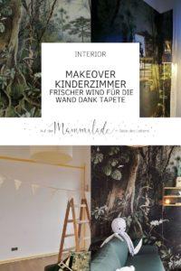 Frischer Wind für die Kinderzimmer-Wand Dank Dschungel-Tapete | mammilade.com