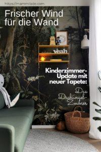 Wand-Makeover mit Dschungel-Tapete | mammilade.com